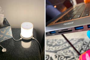 A USB lamp / A converter