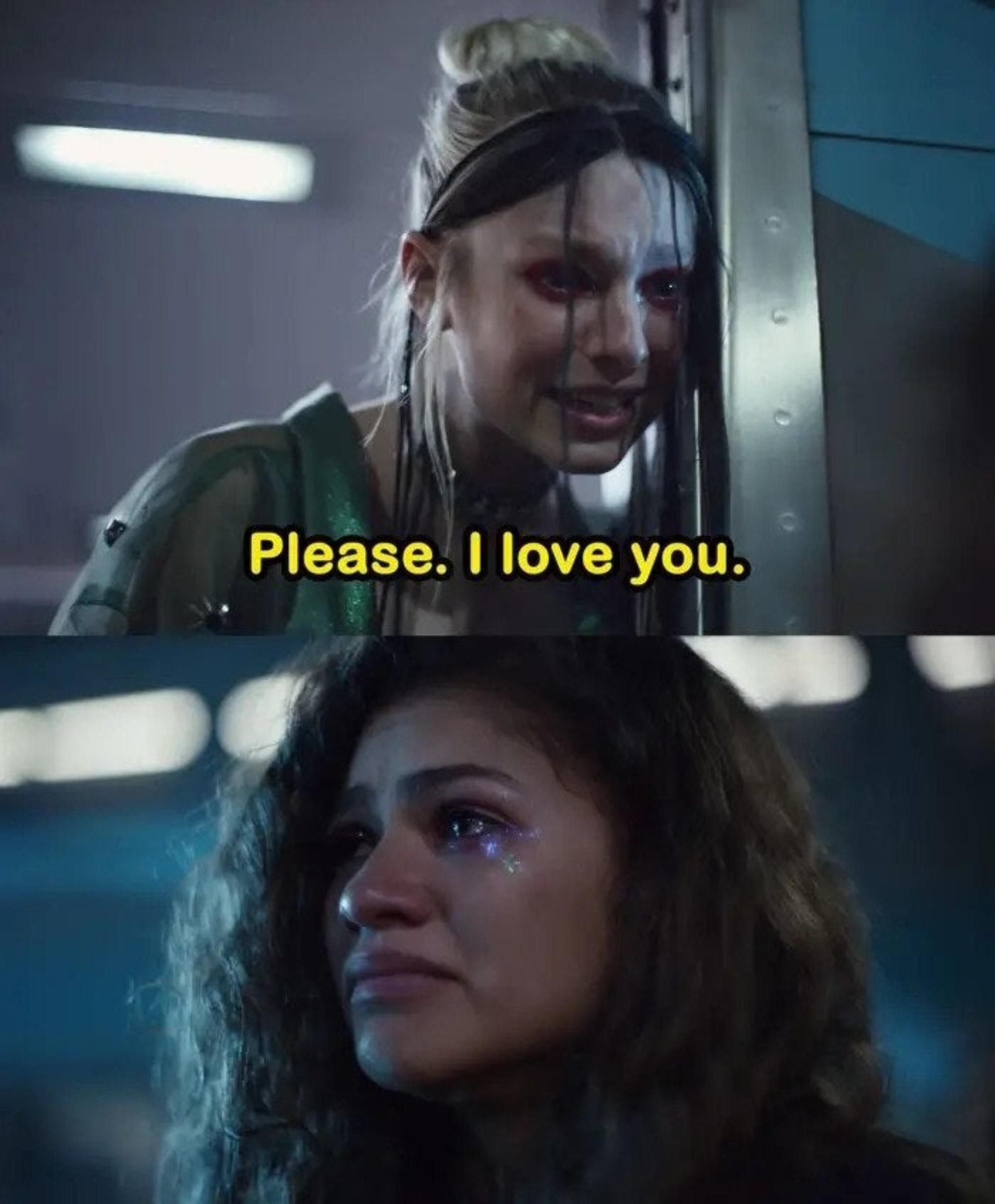 "Jules begs Rue ""Please, I love you"""