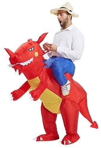Dusfraz inflable de dinosaurio