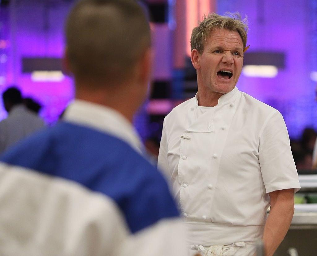 Ramsay yelling