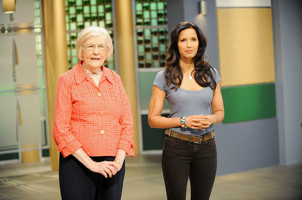 Hagerty as a guest judge on Top Chef with Padma Lakshmi
