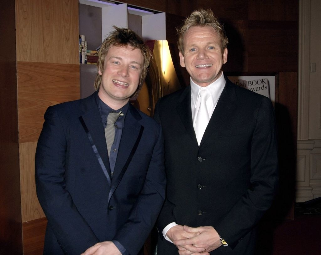 Oliver and Ramsay together at an event