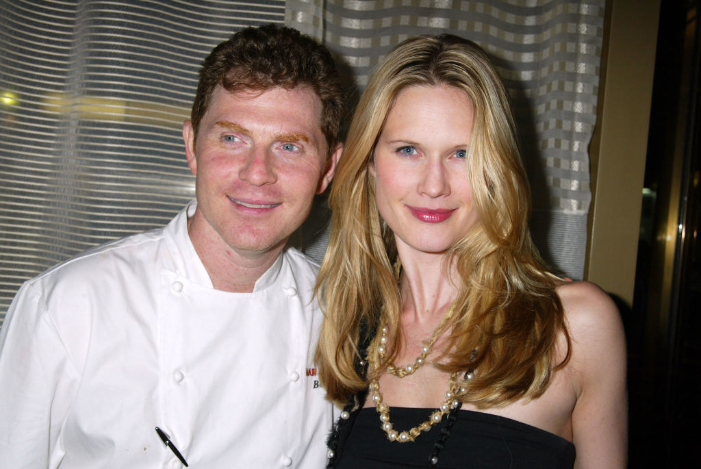 March and Flay at an event together