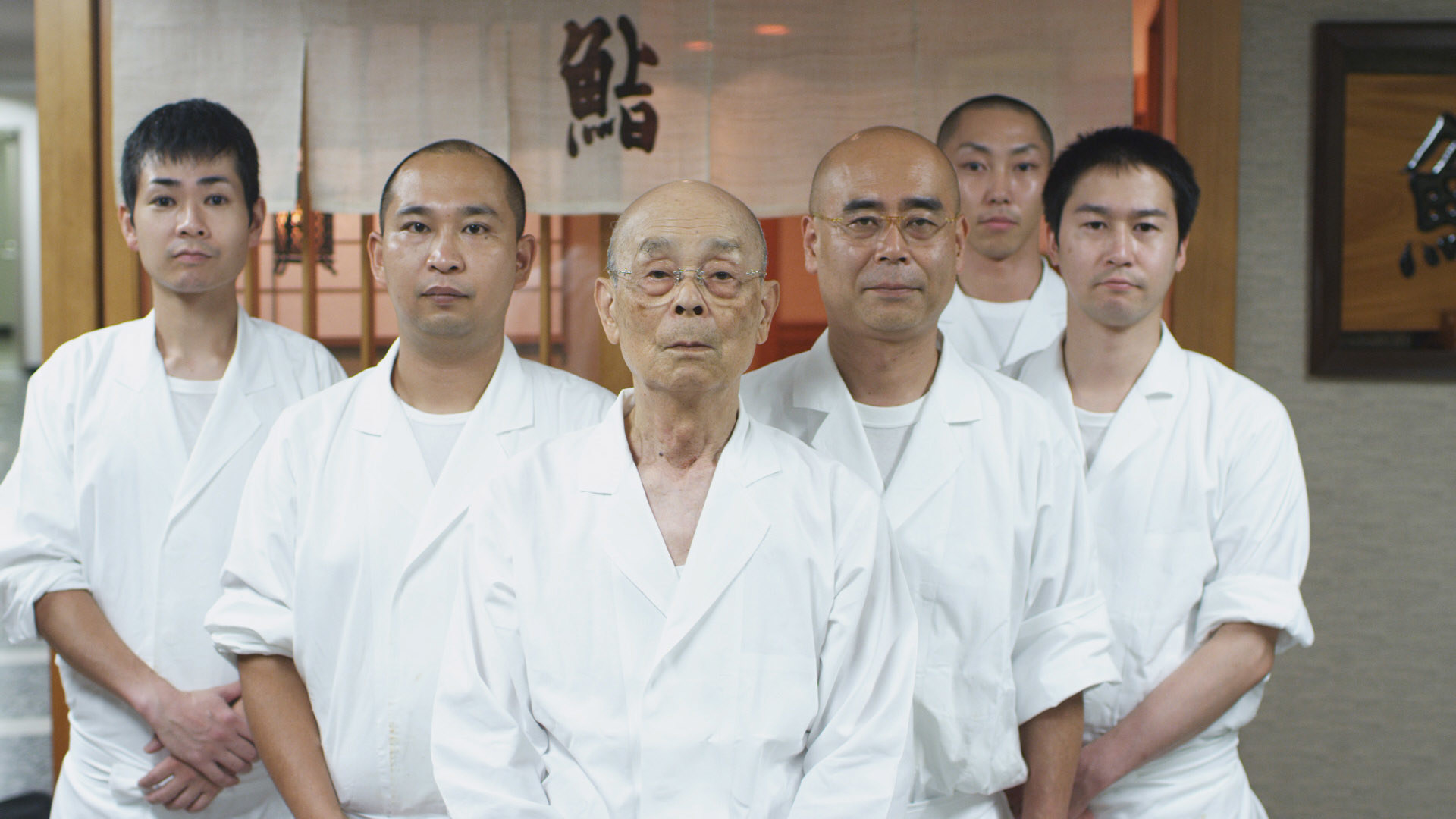 Jiro and his fellow sushi chefs