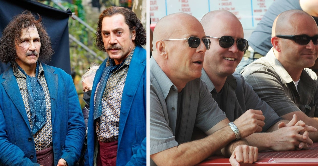 32 Photos Of Actors And Their Stunt Doubles That I Will Never Not Find Amusing