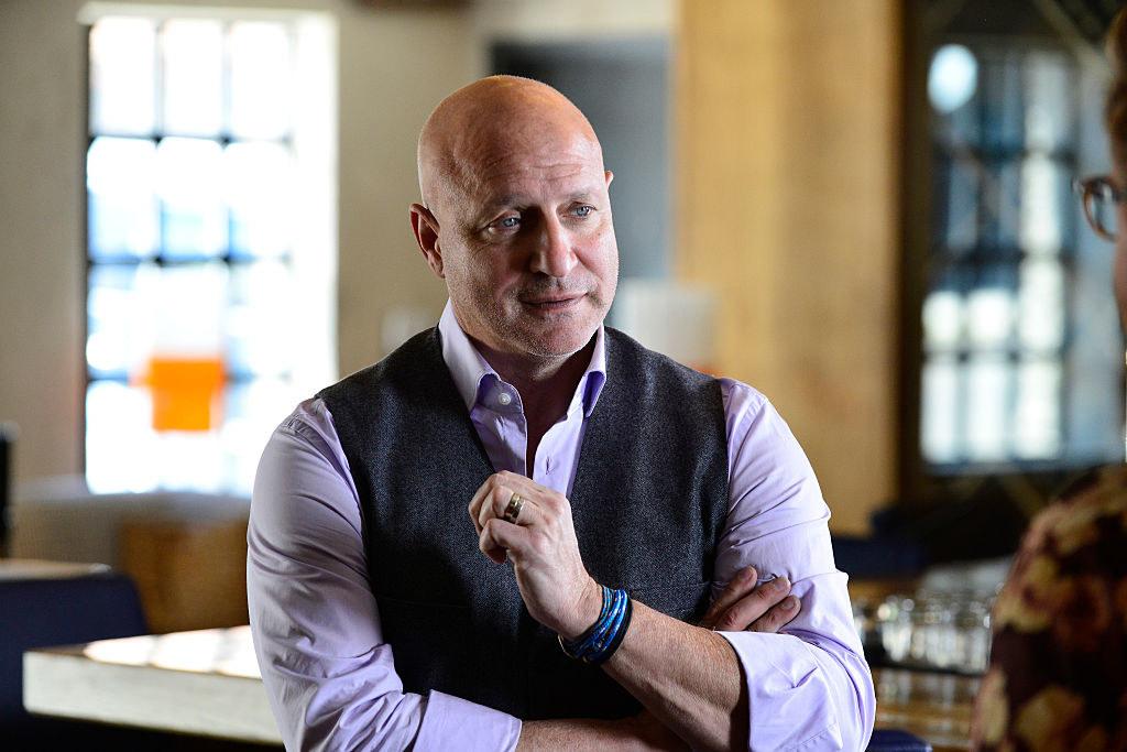Tom Colicchio in suit vest