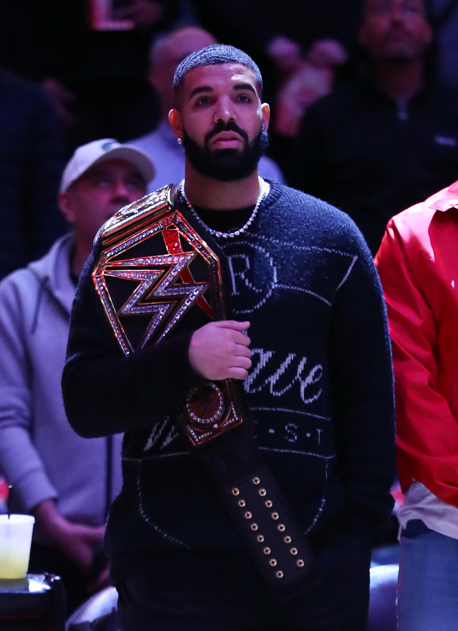 Drake in a sweater