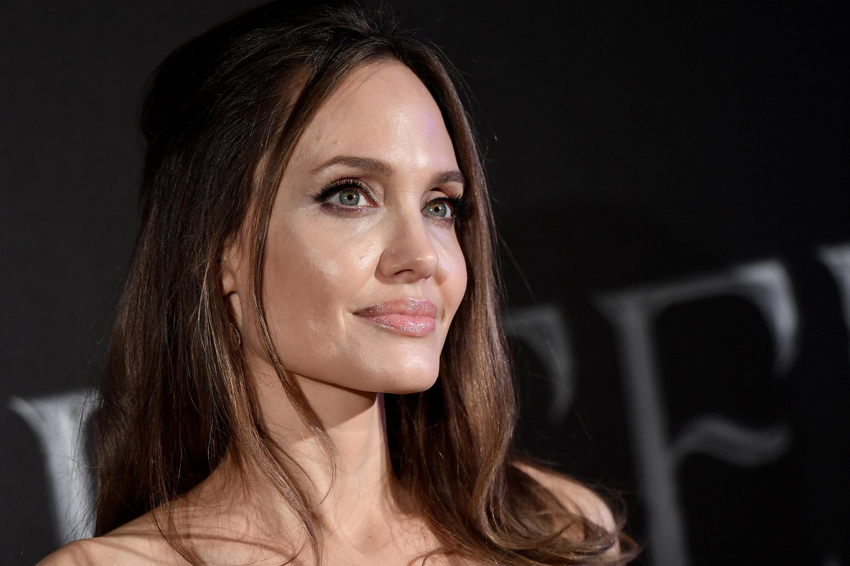 Angelina smiling