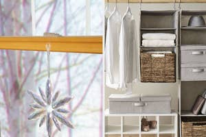 A command hook and closet storage