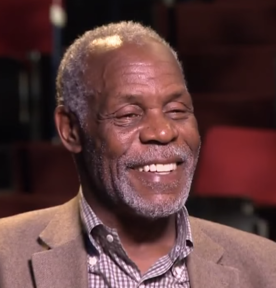 Glover during an interview for CBS in 2015