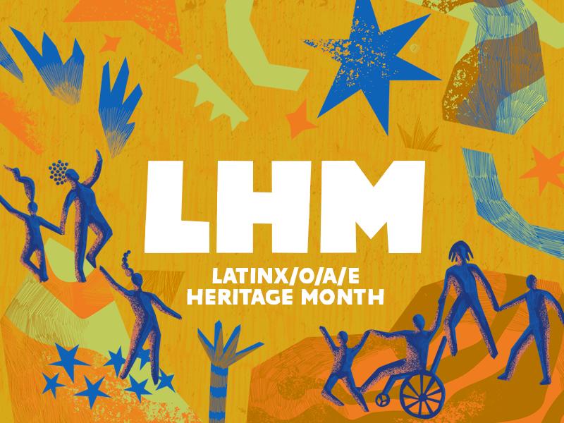 a latinx heritage month banner