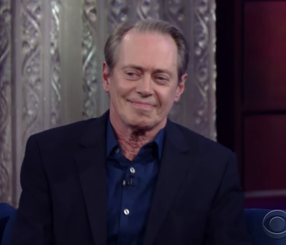 """Buscemi on """"The Late Show with Stephen Colbert"""""""