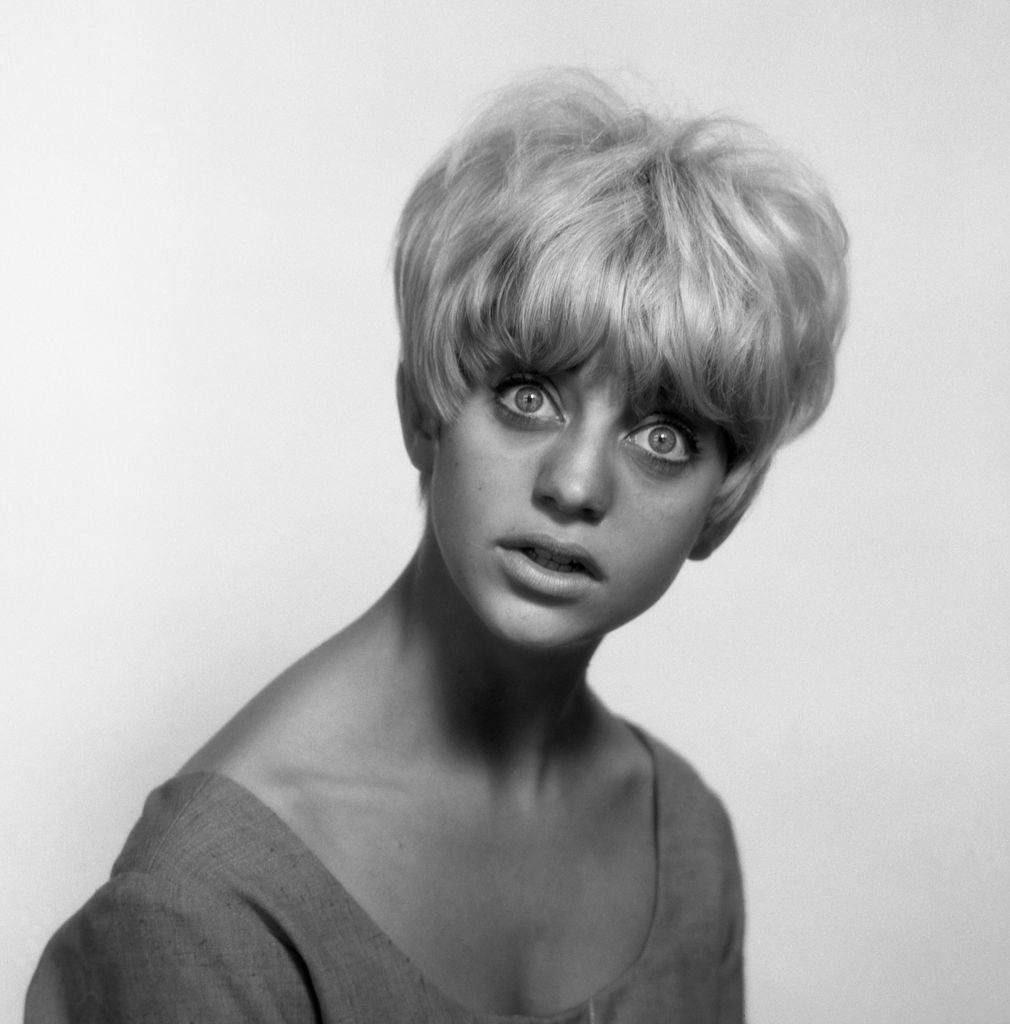 A black-and0white portrait from 1966