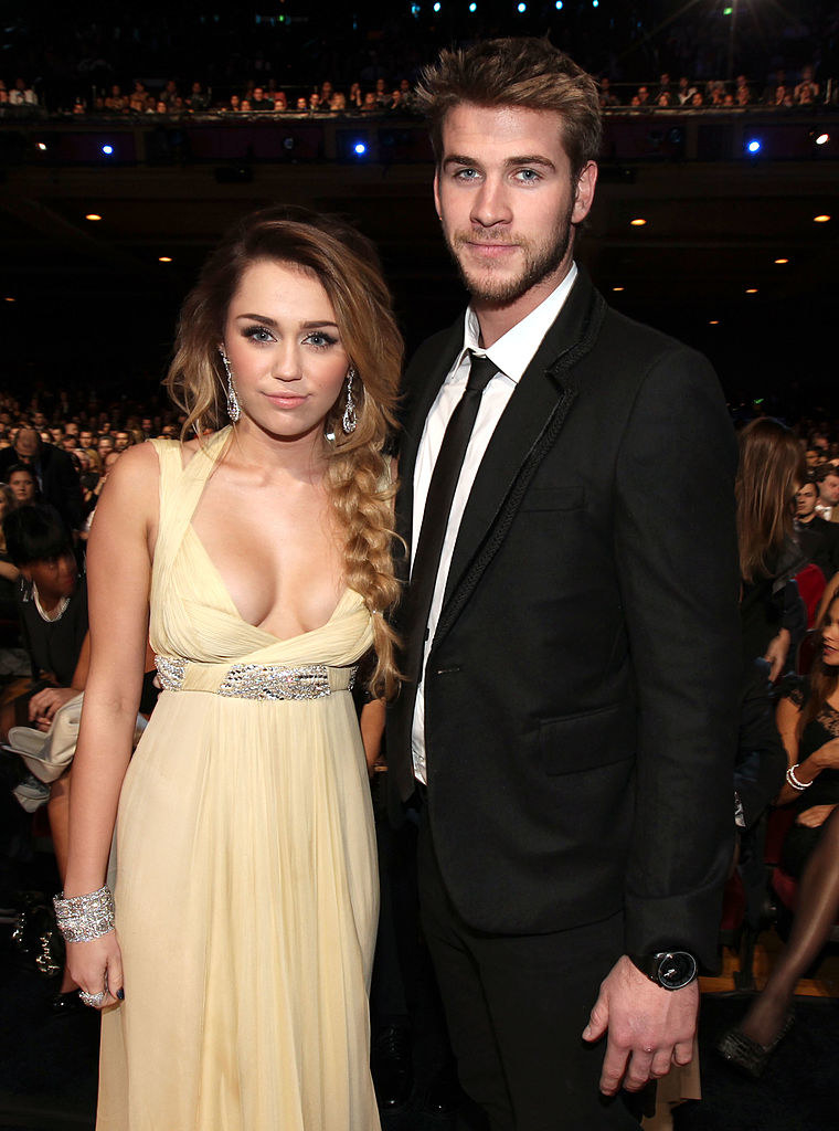 With Miley Cyrus in 2011