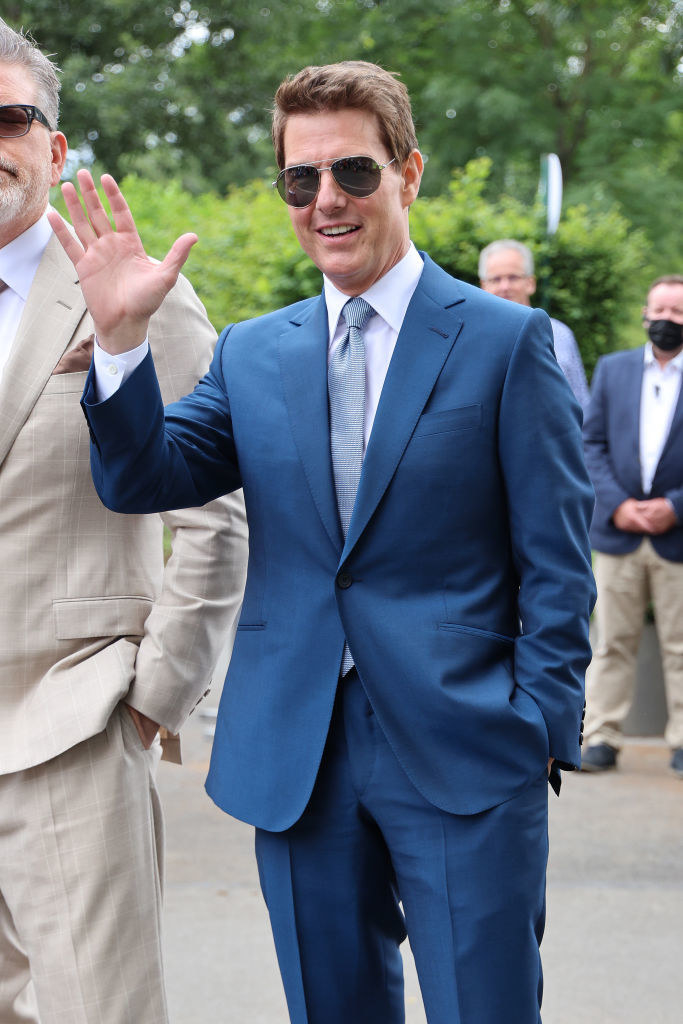 Looking dapper in a suit