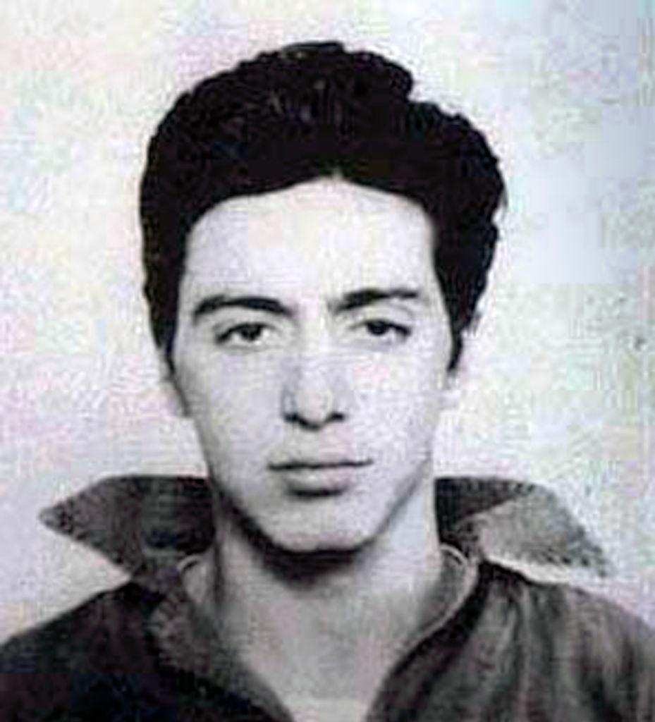 His mugshot in 1961