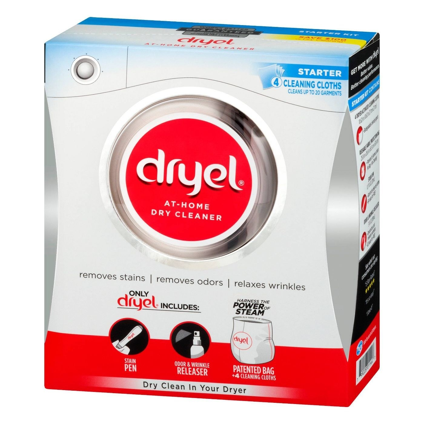 box of dryel at home cry cleaner