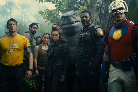 The whole suicide squad stands together