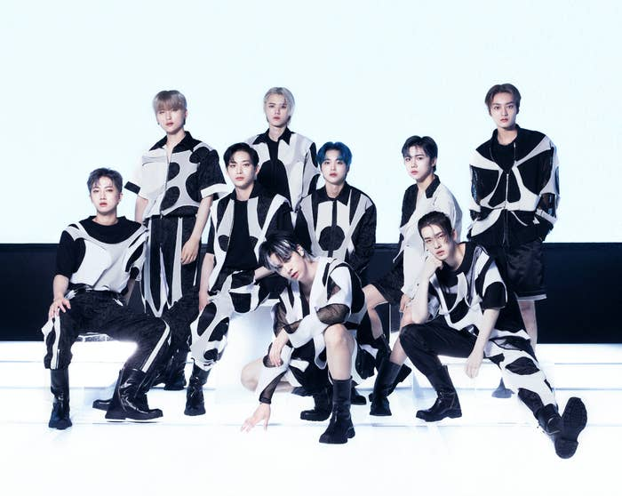 The members of CRAVITY in a promotional photo