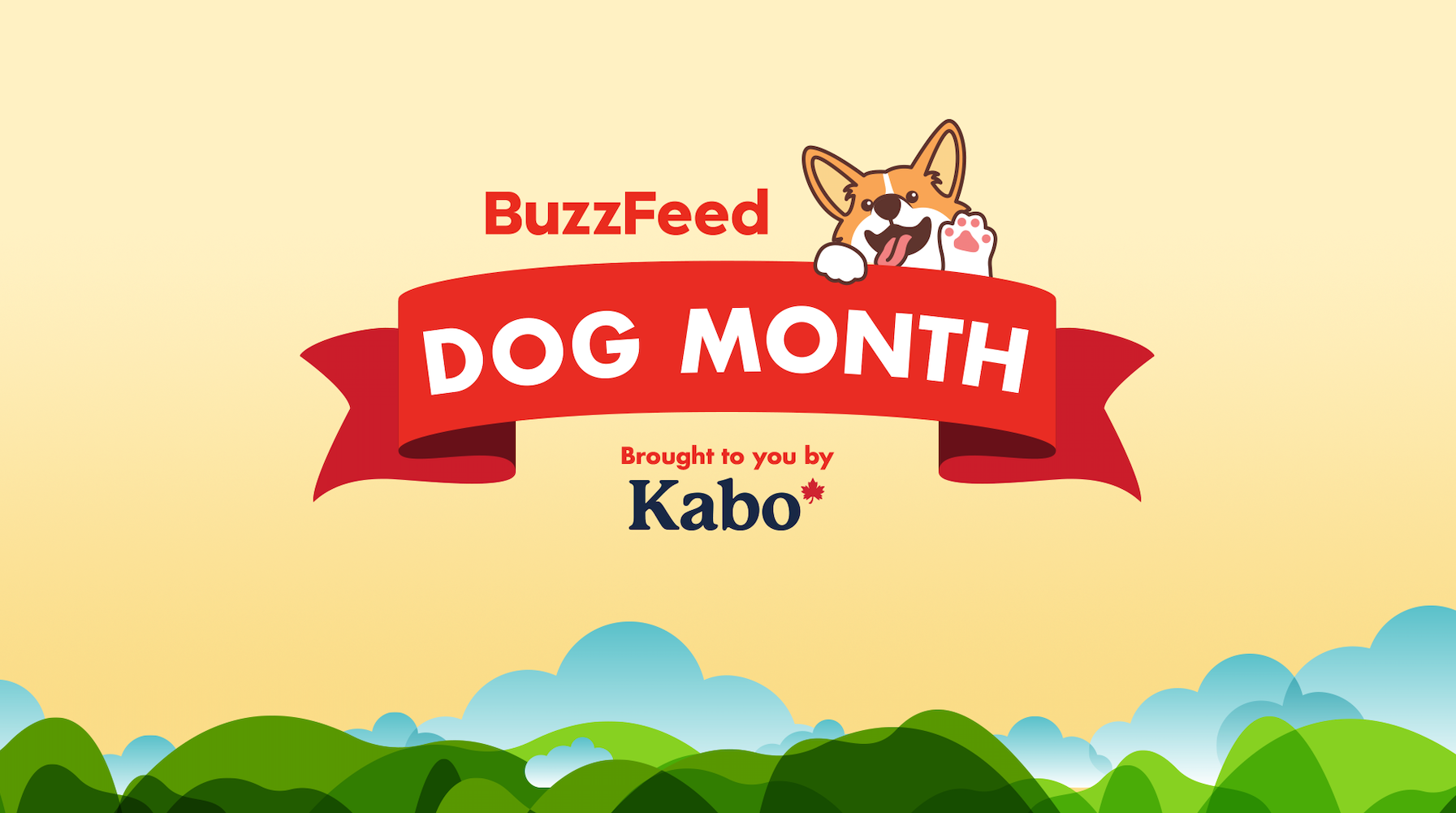 BuzzFeed Dog Month Brought to you by Kabo