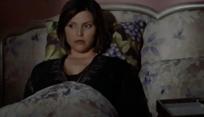 Cordelia in bed