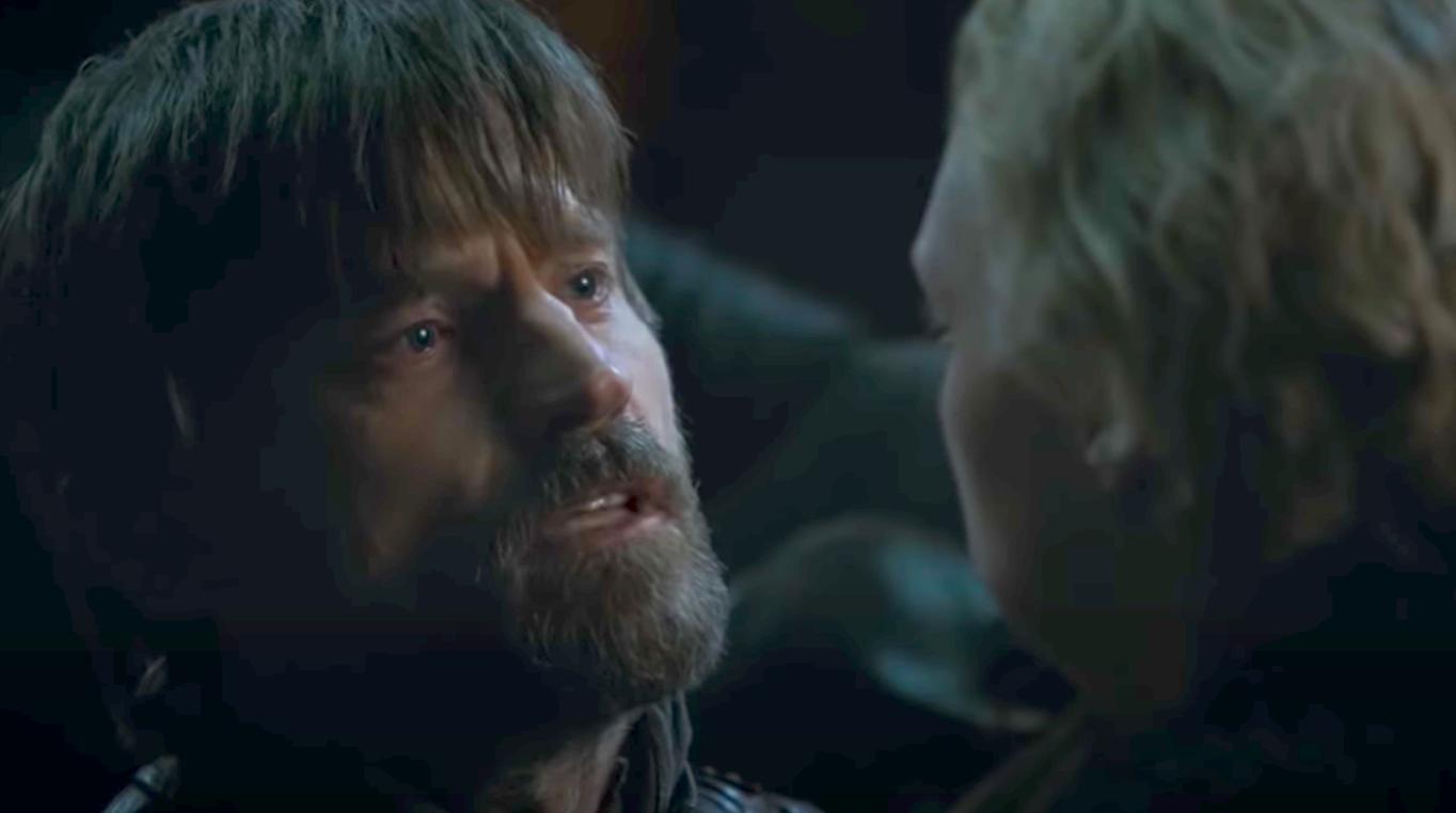 Jaime leaving Brienne