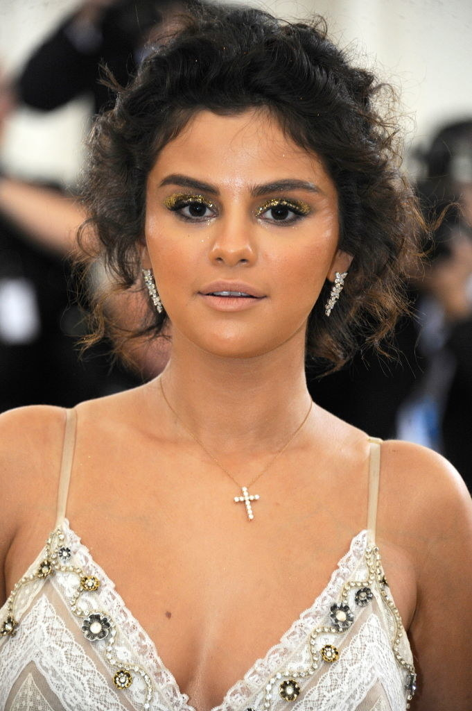 Selena Gomez attends The Heavenly Bodies: Fashion & The Catholic Imagination Costume Institute Gala