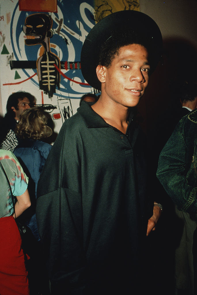 Basquiat in 1985