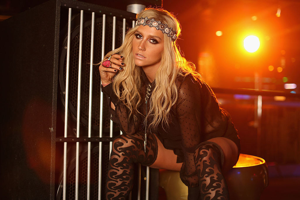 Kesha in a promotional pre-concert image