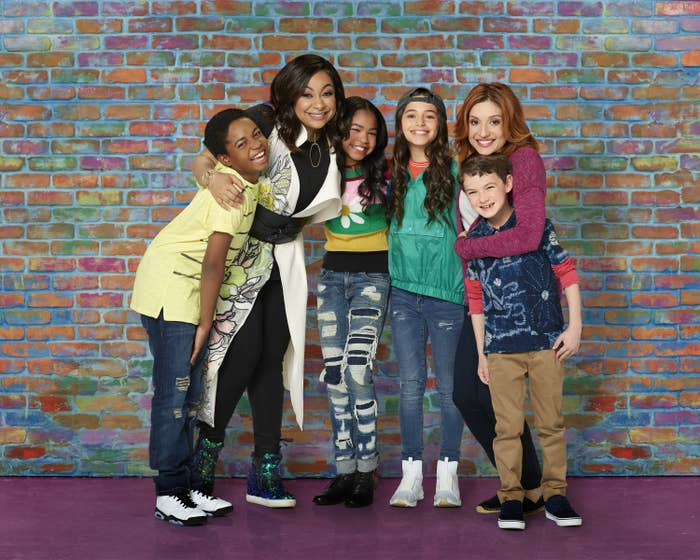 Promotional photo of the cast of Raven's Home