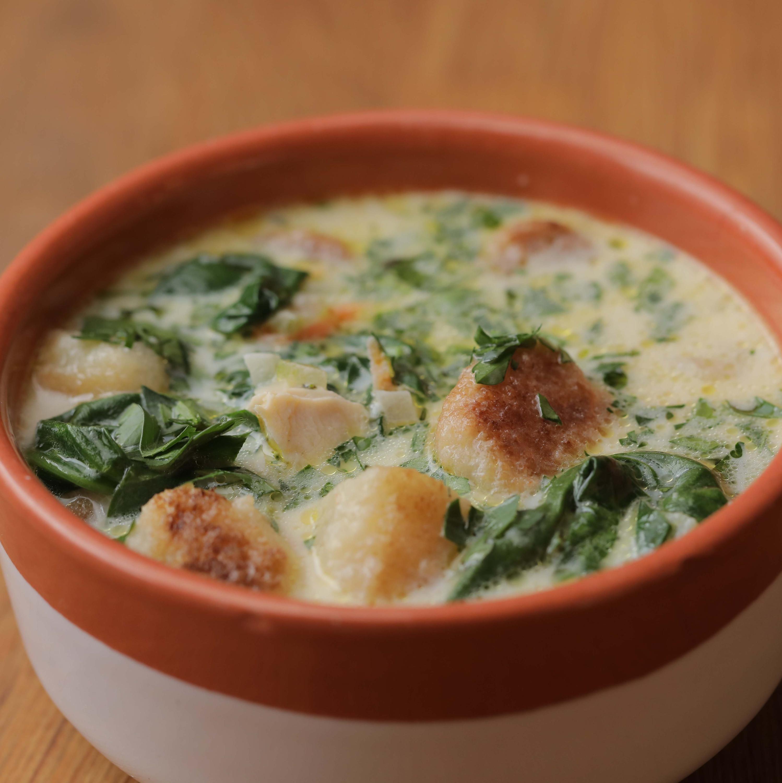 Chicken & Cauliflower Gnocchi Soup