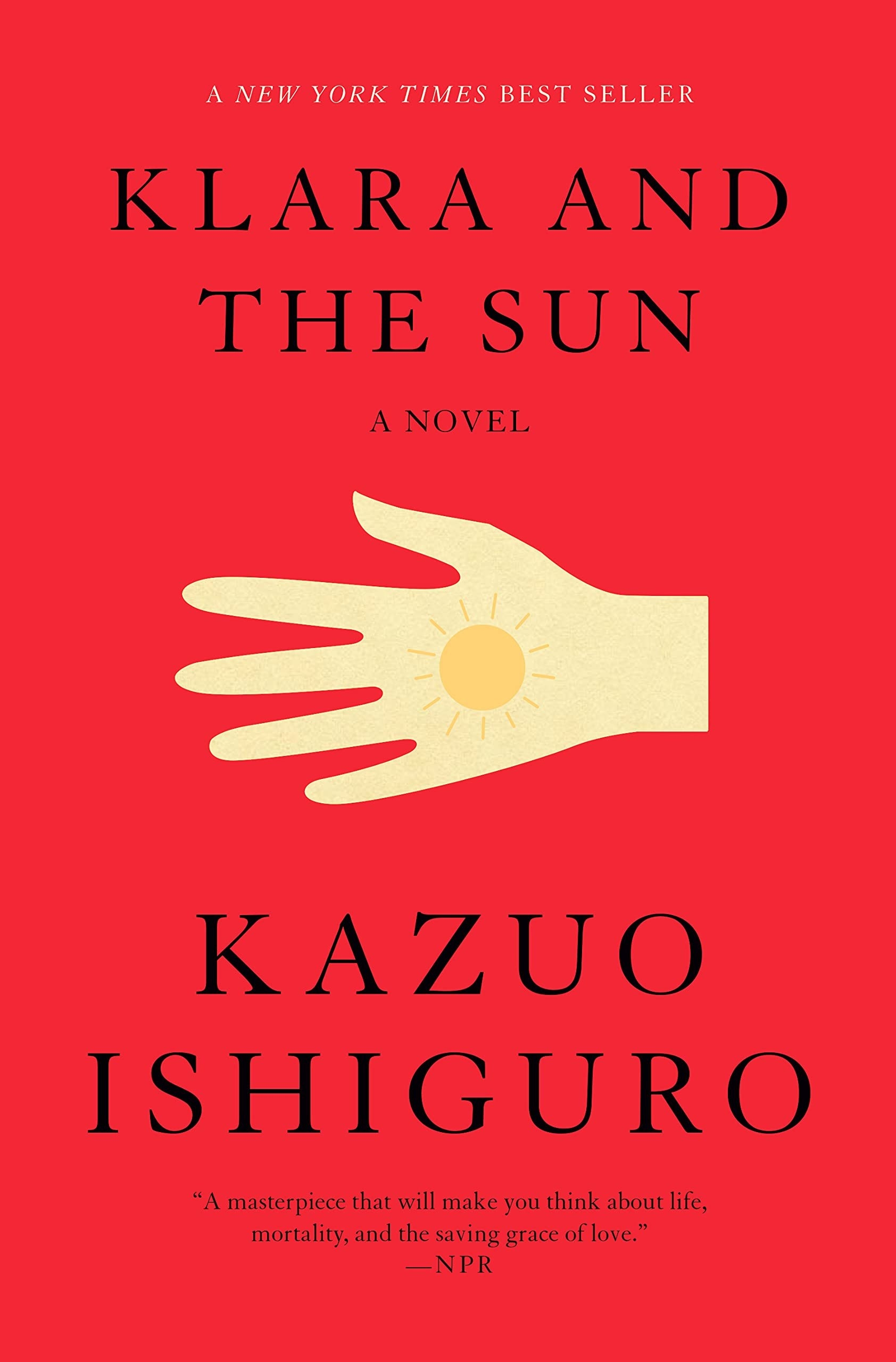 The cover of Klara And The Sun by Kazuo Ishiguro