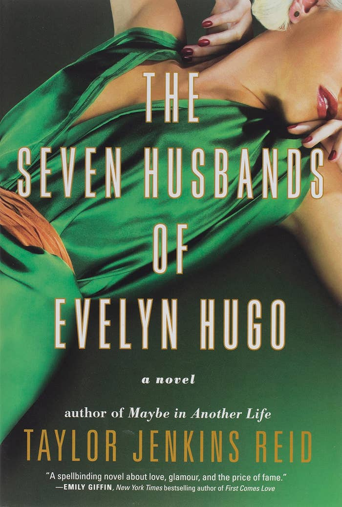 The cover of The Seven Husbands Of Evelyn Hugo by Taylor Jenkins Reid