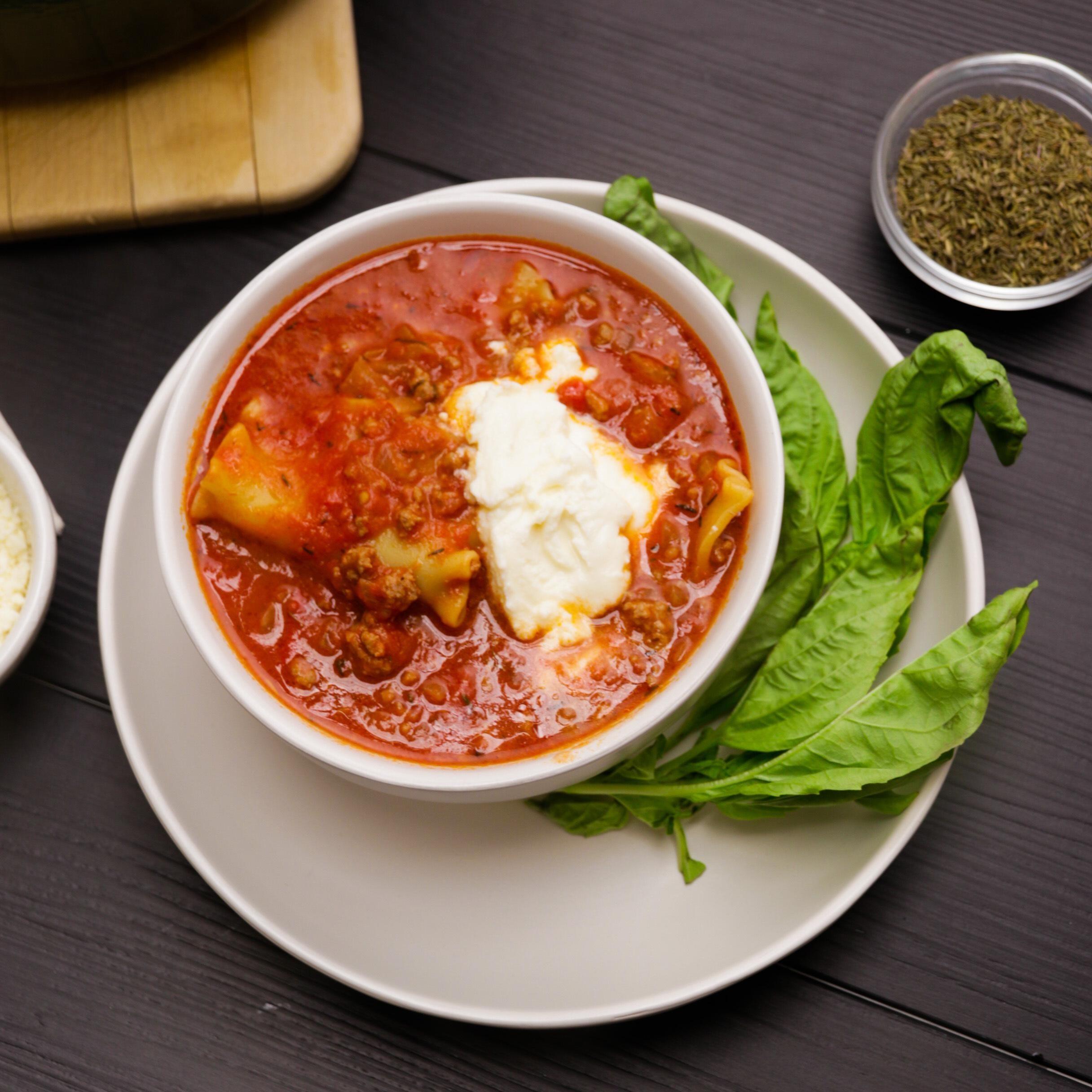 Classic Lasagna Soup