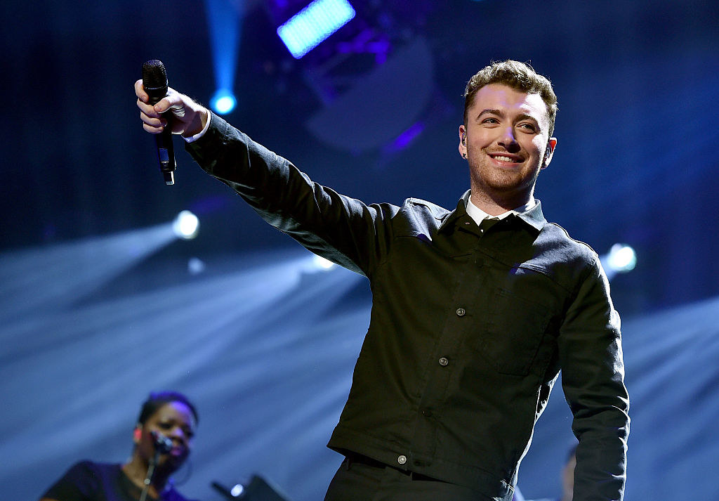 Sam Smith performs onstage