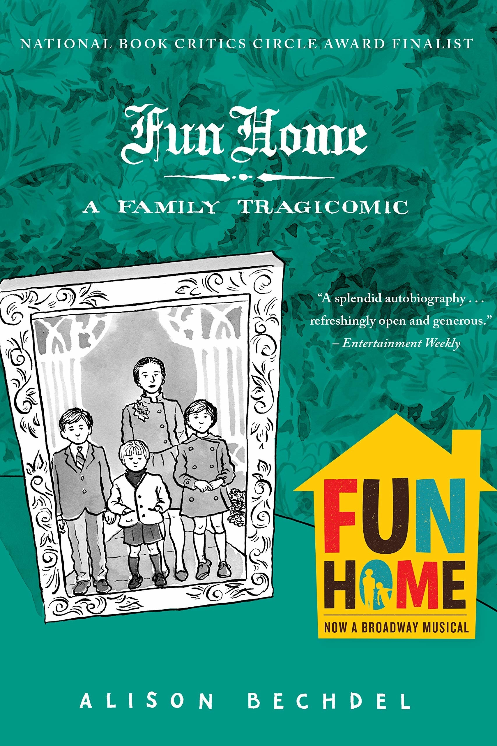 The cover of Fun Home by Alison Bechdel