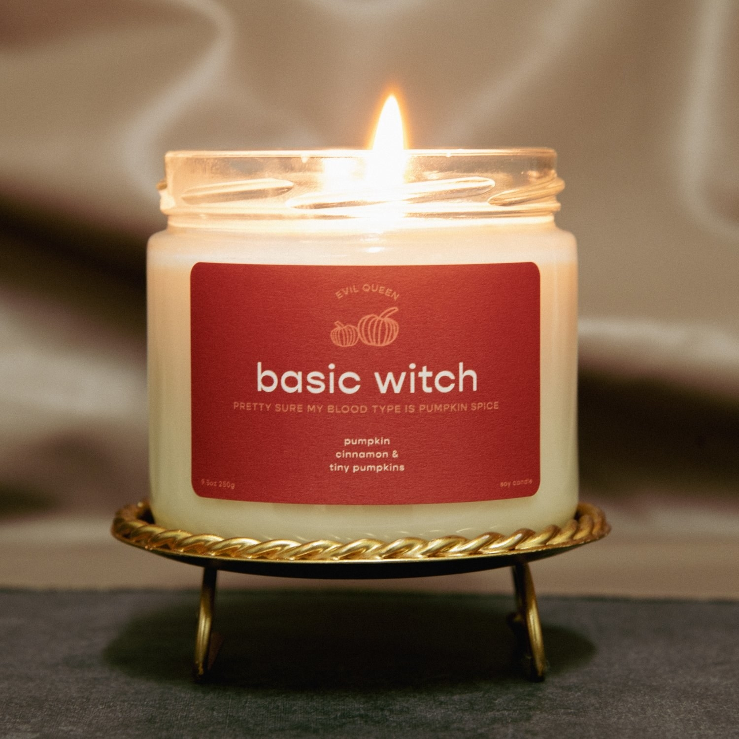 the Basic Witch candle