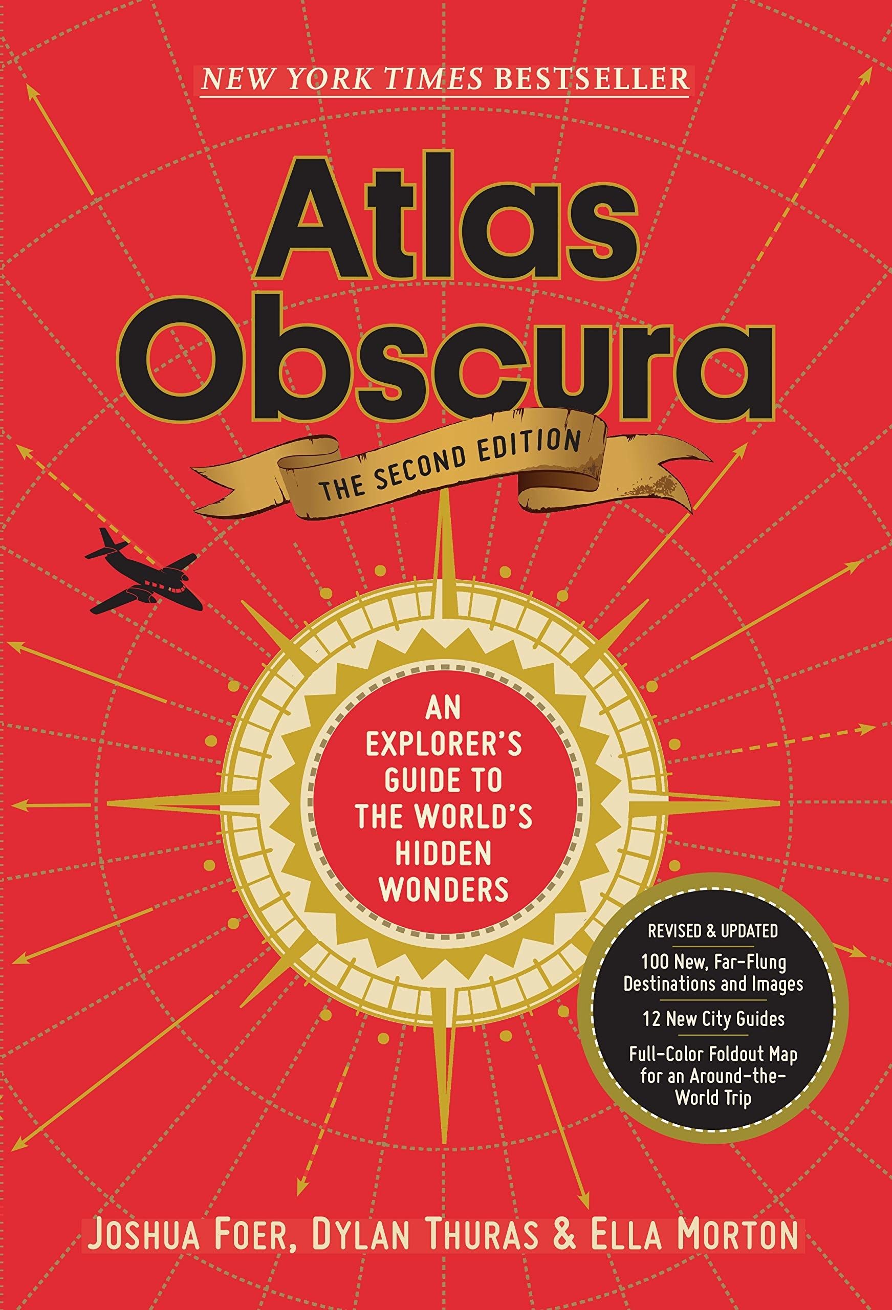The cover of Atlas Obscura by Joshua Foer, Ella Morton, and Dylan Thuras
