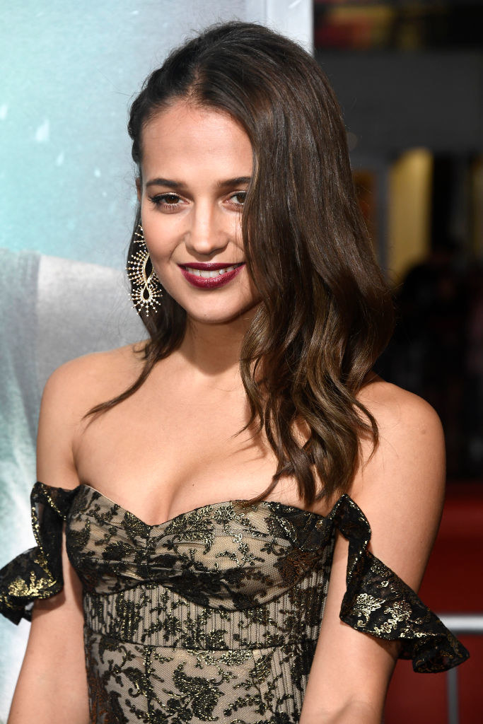 """Alicia Vikander attends the Premiere Of Warner Bros. Pictures' """"Tomb Raider"""""""