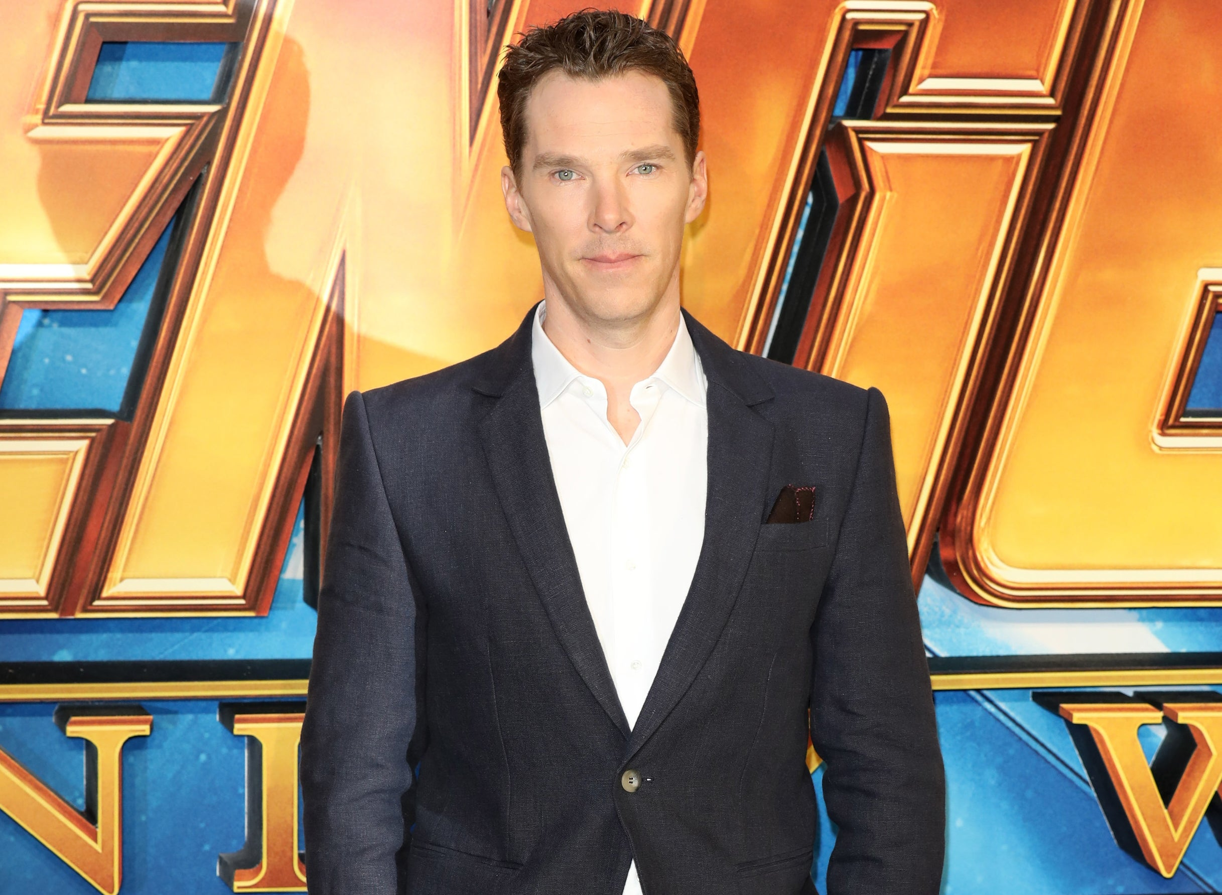 Benedict attends a Marvel event