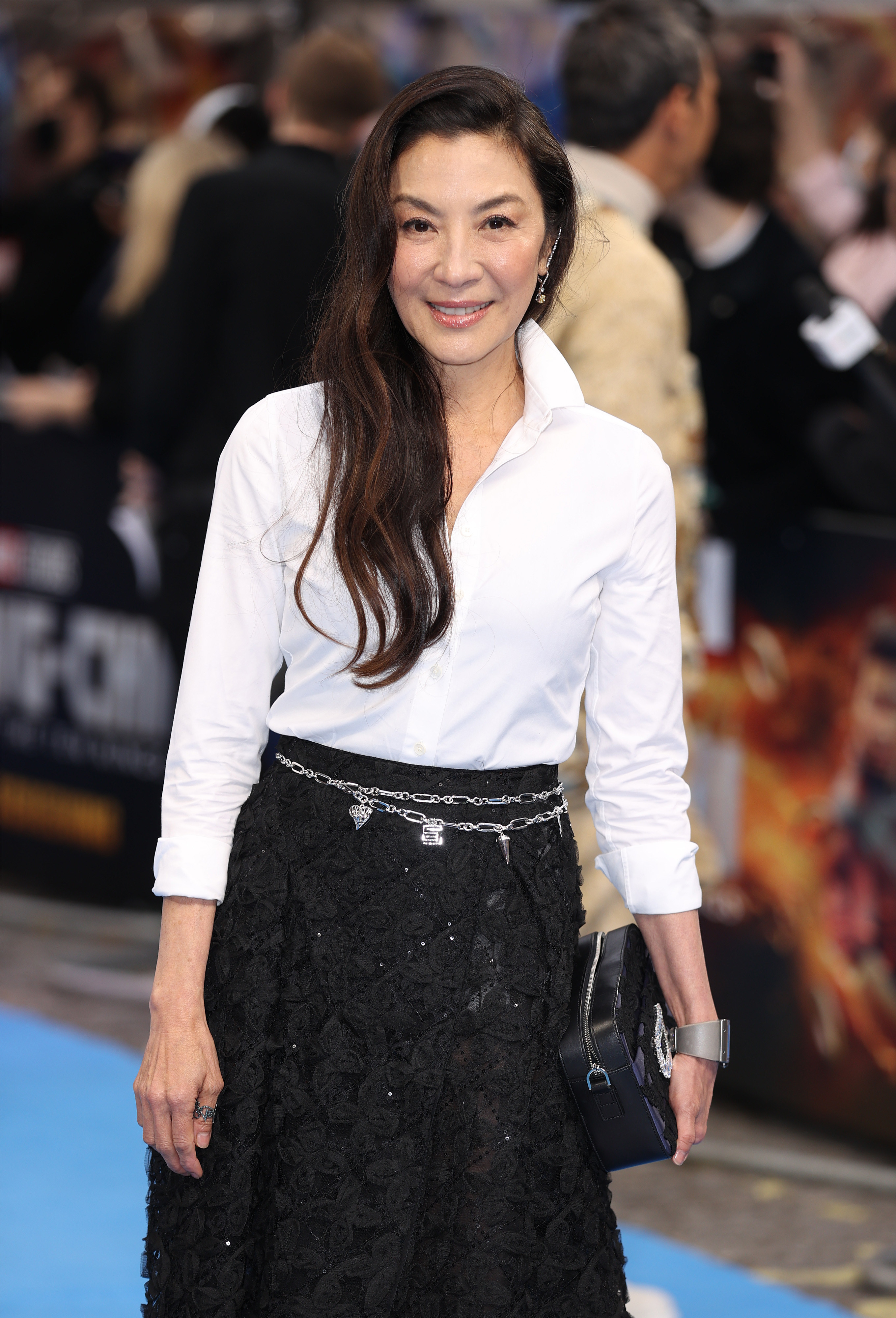 Michelle Yeoh on the red carpet