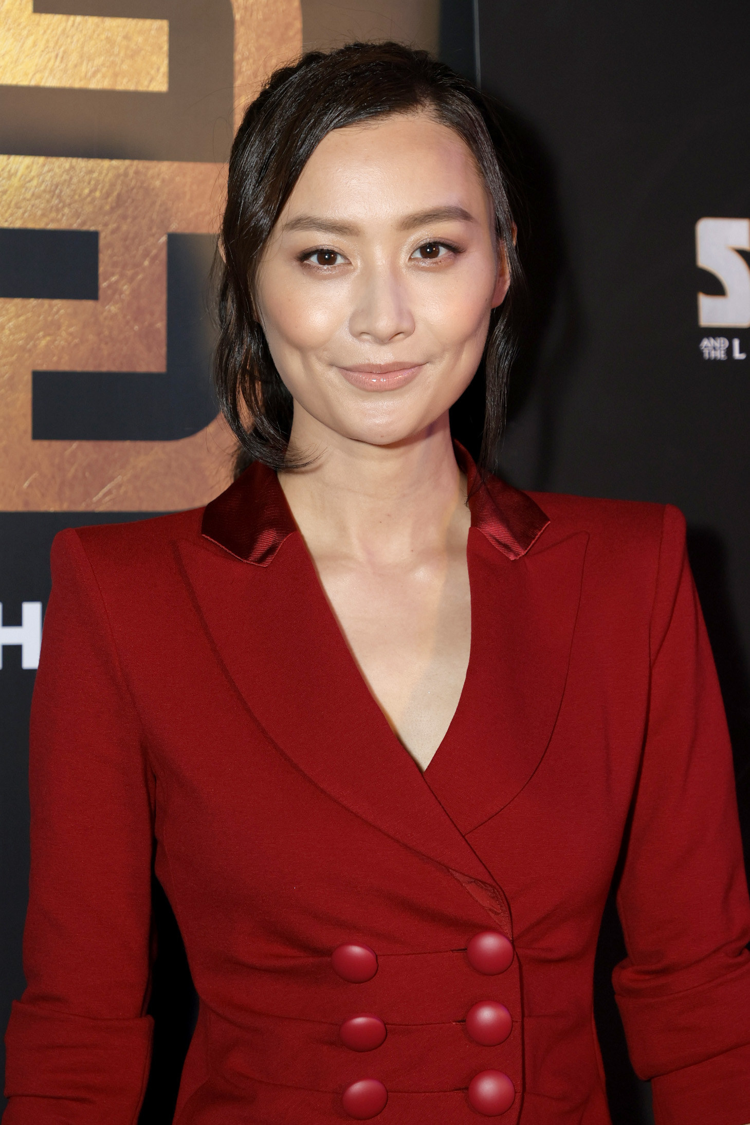 Fala Chen on the red carpet