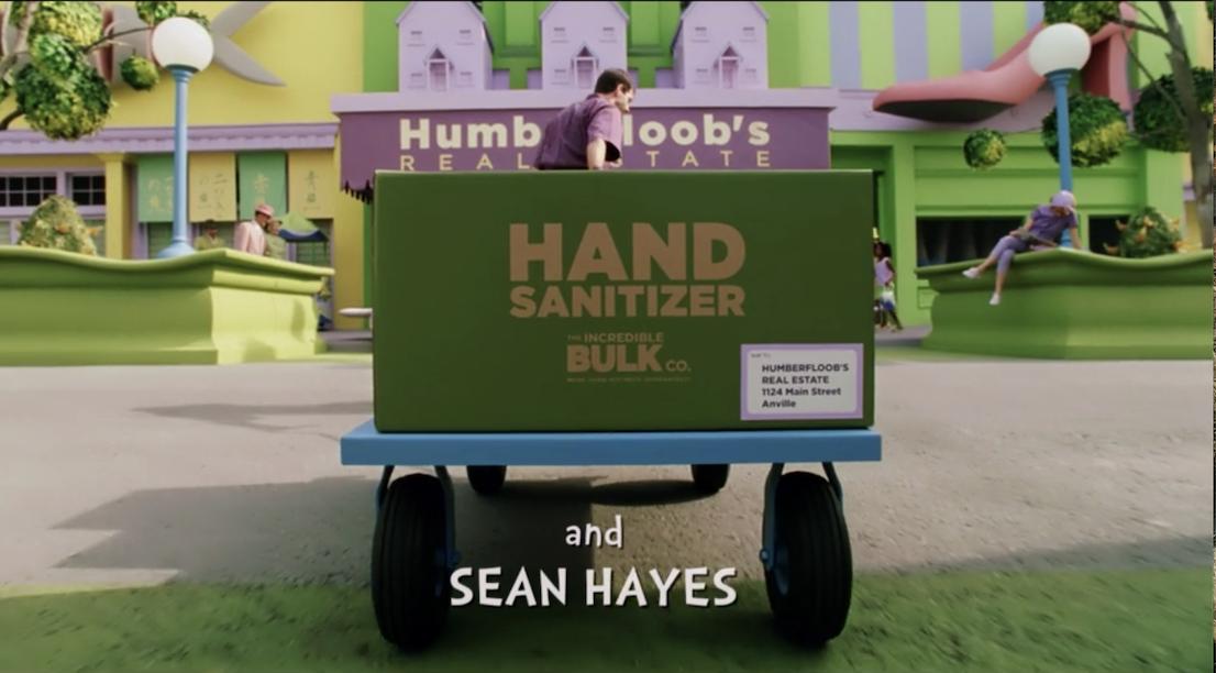 A bulk order of hand sanitizer