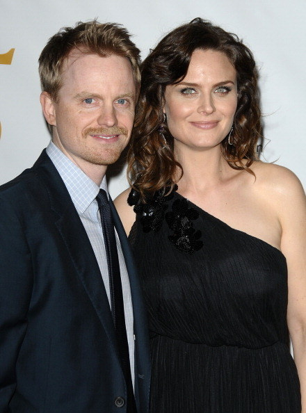 David and Emily on the red carpet