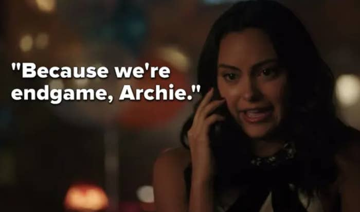 """""""because we're endgame, Archie"""""""