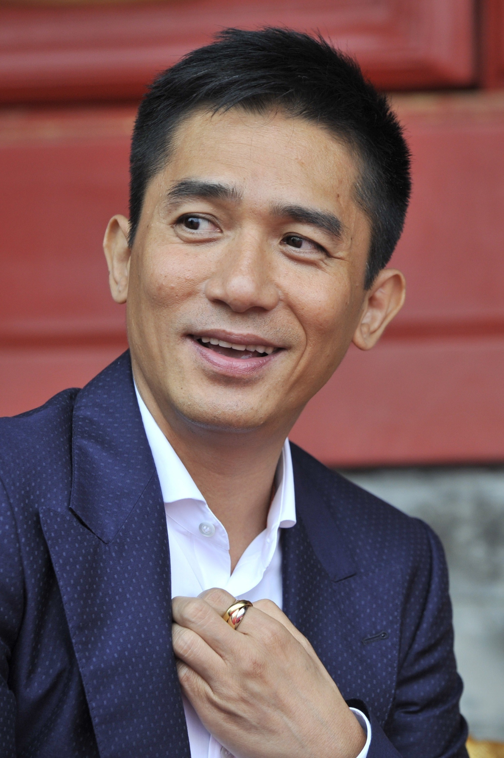 Tony Leung on the red carpet