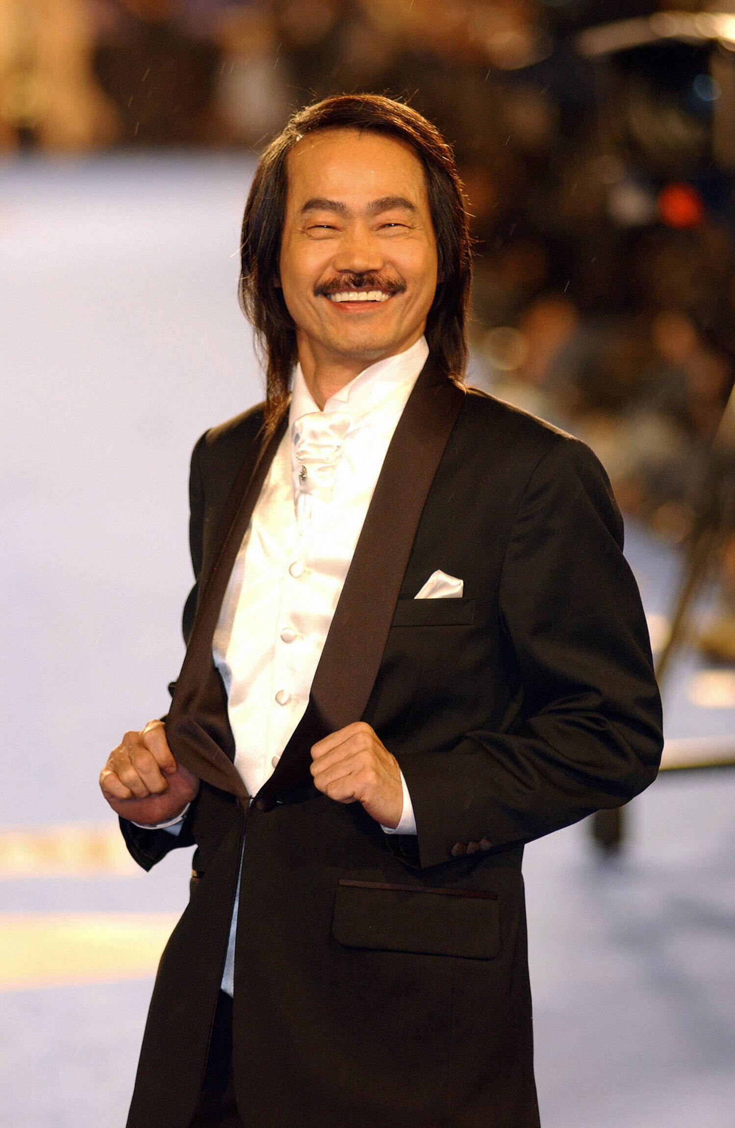 Yuen Wah on the red carpet