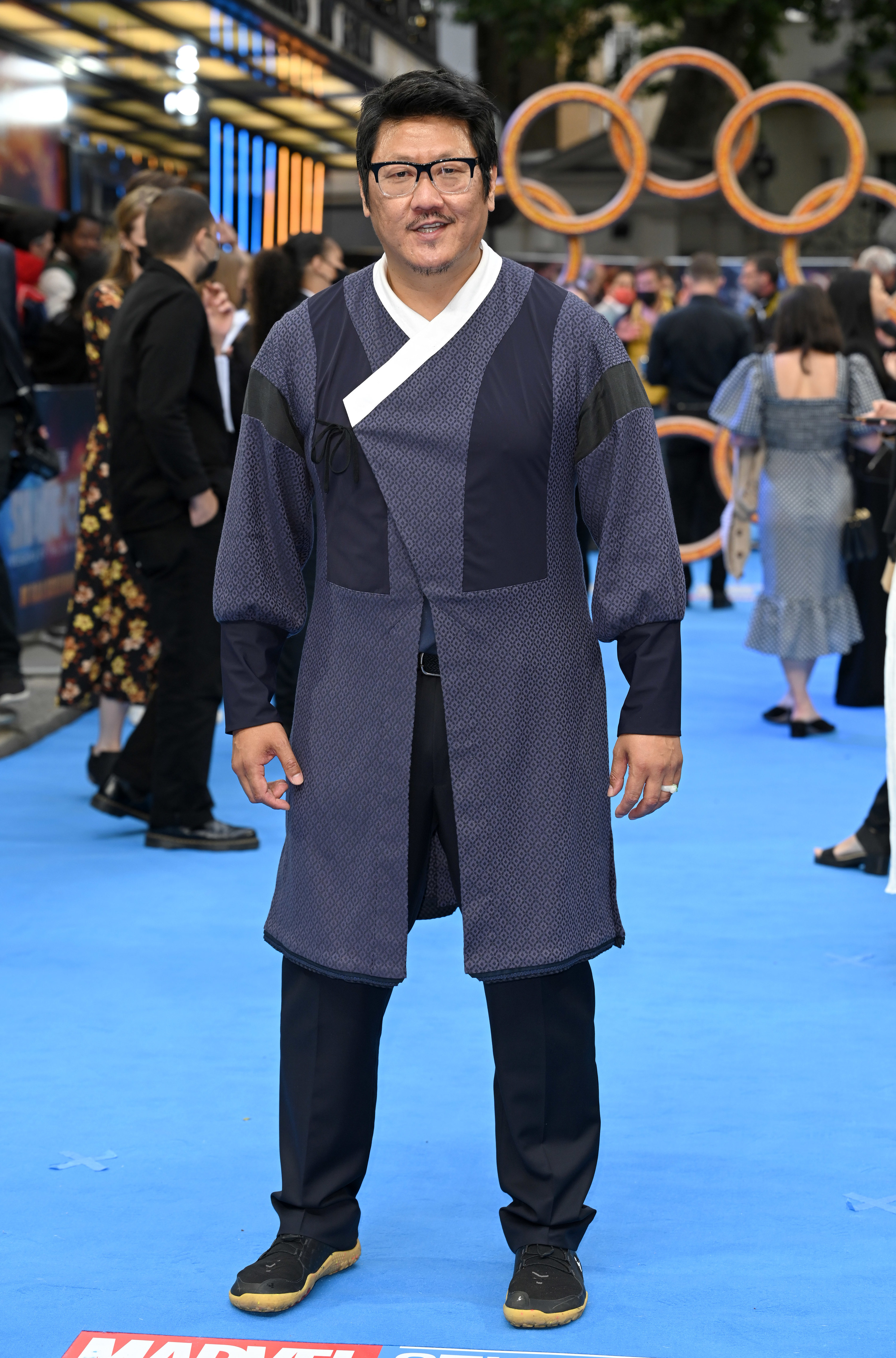 Benedict Wong on the red carpet