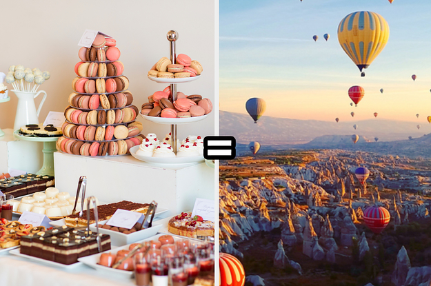 Build A Wedding Dessert Bar And We'll Give You A Unique Honeymoon Destination