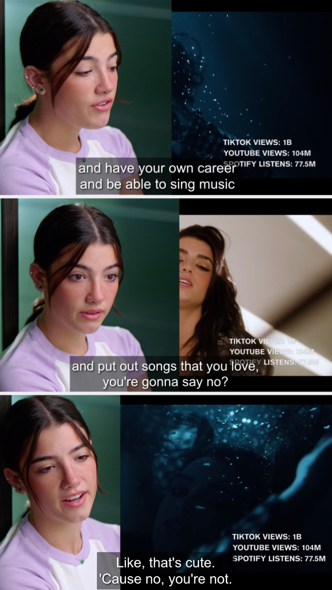Charli talking about Dixie's music career